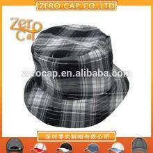 stripe fabric bucket hat pattern cotton bucket cap