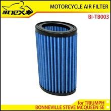 NEX High Flow Air Filter for TRIUMPH BONNEVILLE STEVE MCQUEEN SE 2012