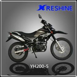 Chinese wholesale new dirt motorbike motocicleta 200cc