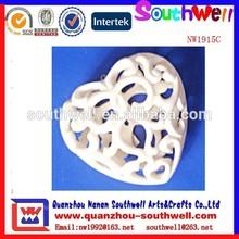 wholesale popular resin personalized heart shape pendant