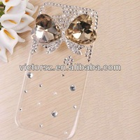Bling Crystal Butterfly Rhinestone Case for iphone 5 5s Back Cover