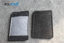 large suppply felt bag cell phone felt case