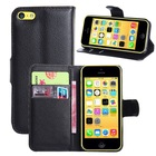 Flip PU Stand Leather Wallet case cover for iPhone 5c case