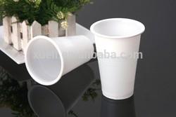 10oz sampel free solid color plastic cup sealer , food grade glitter plastic cup