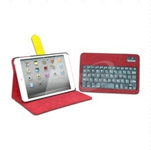 Multi color 360 rotation bluetooth keyboard case for ipad mini