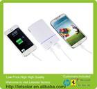 Dual USB port 5V/1A 5V/2.1A 5000mah creative portable power bank/mobile power supply