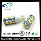 12v led light car t10 1206 28smd car interior lighting