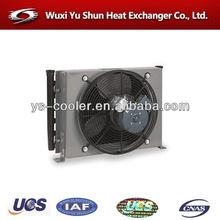 custom made plate and bar water radiator fan