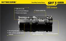Nitecore SRT3 XM-L2 LED Flashlight 550 Lumens-uses 1x CR123A/1x AA battery
