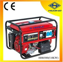 5000 w generator petrol with 13 hp petrol engine,4 stroke petrol generator