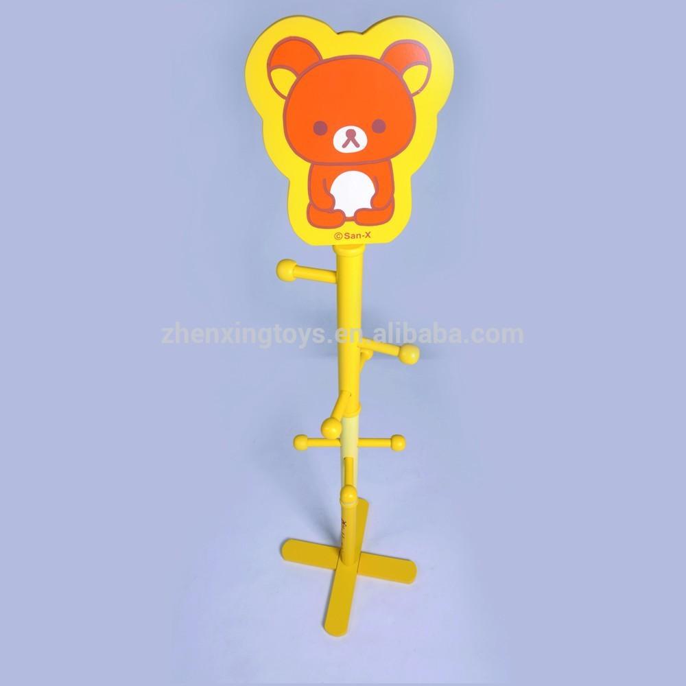 mooie cartoon goedkope houten kapstok boom en kleding voor kinderen ...