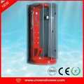 Nouveau design de haute qualité sauna à vapeur salle de douche mur avec étagère en bois chinois salle de bains