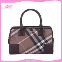 2014 hot sale new trend popular fashion brand pvc leather handbag