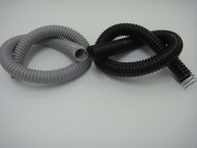 flexible corrugated hose with pvc coated steel wire