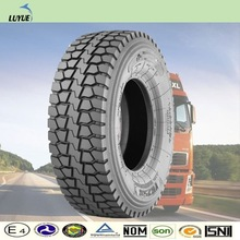 new brand radial tubeless type tires for trucks from china manufacture