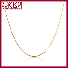 factory direct sale 925 sterling silver jewelry 14k gold electroplated snake chain wholesale