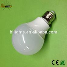 ce rohs approve high lumen e27 e26 base 7w led bulb 6500k