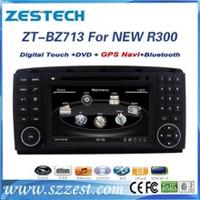 ZESTECH 7 inch 2 din car radio 2 din for Benz R300 with GPS Bluetooth A8 Chipset DDR256MB car dvd media