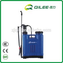nueva mochila rociador de plástico del pe materail lavadora de presión de pulverización de la máquina