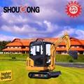 Shougong SG18-7B cabina de cadenas excavadoras con ce, Iso9001