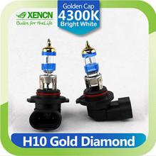 XENCN H10 12V 42W PY20D 4300K Gold Diamond Car Fog Light Golden Tip Bright White Halogen Bulb UV Filter Auto lamp