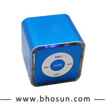 New technology for home music portable compatible usb/fm mini bluetooth speaker
