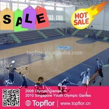 Protable Basketball Flooring Indoor 6.0/8.0mm Basketball Maple Woodlike Surface