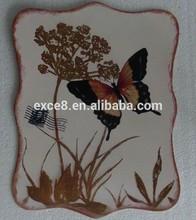 Romantic antique style handpainted metal art