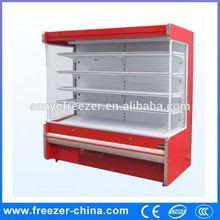 Supermarket Multilayer laminates free combination vertical display refrigerator forfruit and vegetable