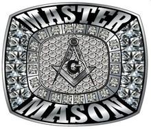 Hot Sale Magic Jewelry Freemason Masonic Ring Polished 316L Stainless Steel Band, Silver