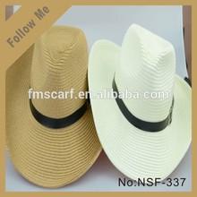 New coming Jazz hat straw sunhat summer beach cap for man