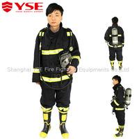 EN469 standard fire fighting jacket and pant