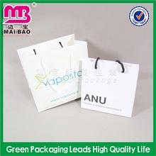 color designable white paper bag 100 pieces