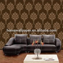 elegant flower vinyl italian home decor waterproof for bathroom new design wall covering