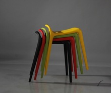 New style wholesale stackable plastic Bum stool replica Stefano Giovannoni Yuyu Stool