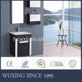 blanco y negro baratos cuarto de baño de la vanidad acorralado mueblesdebaño