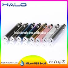 1100mAh huge capacity Android Micro USB Evod Kit panasonic electric bike battery