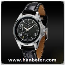 2015 High Quality Mens Trend Watch Quartz Japan Movement Men Chronograph Watch