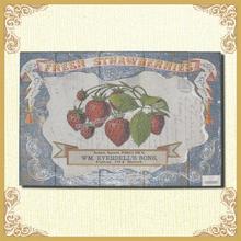 Hand painting wood plaque,fresh fruit design