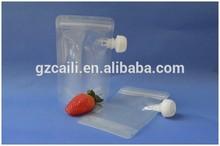 oem customed plastic fruit juice packaging bag
