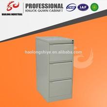 general use metal cabinet ,3 drawer vertical file cabinet