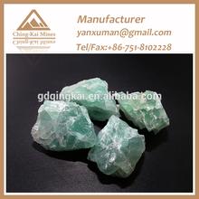 Natural Fluorite lump CaF2 90%min,Miner