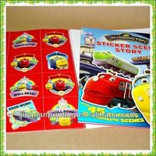 Promotion Sticker Custom Book Printing