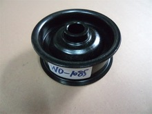 WEIDI auto spare parts round belt pulley black steel belt pulley Factory direct sales steel