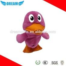 Custom realistic stuffed animals plush duck toy