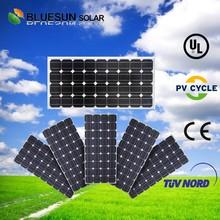 Home use high efficiency mono 80w 12v solar panels