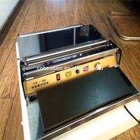 HW-450 fresh vegetrable Manual shrink wrapping machine,film sealer machine