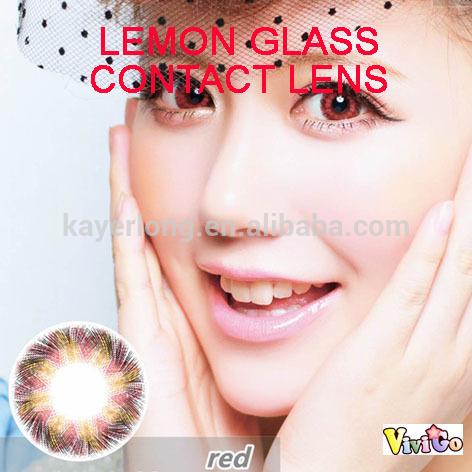 più economico di vetro limone grande <b>cerchio rosso</b> il colore delle lenti <b>...</b> - cheaper_lemon_glass_red_big_circle_color