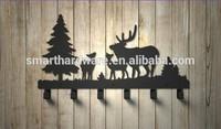 Moose decorative metal coat hook Wall mounted coat rack