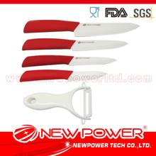 6PCS ceramic blade knives set zirconium oxide price